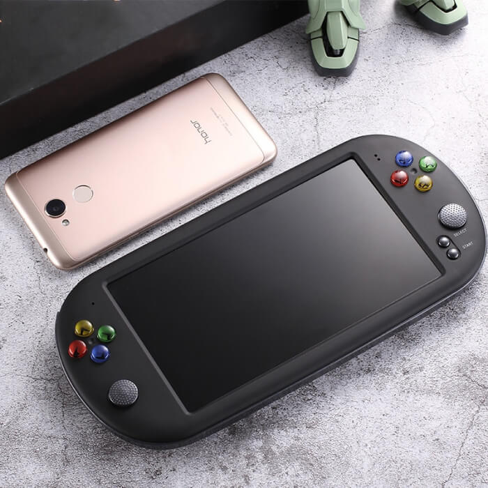 Super Handheld Game Console (1500+ 8/16/32/64 bit games pre-installed)