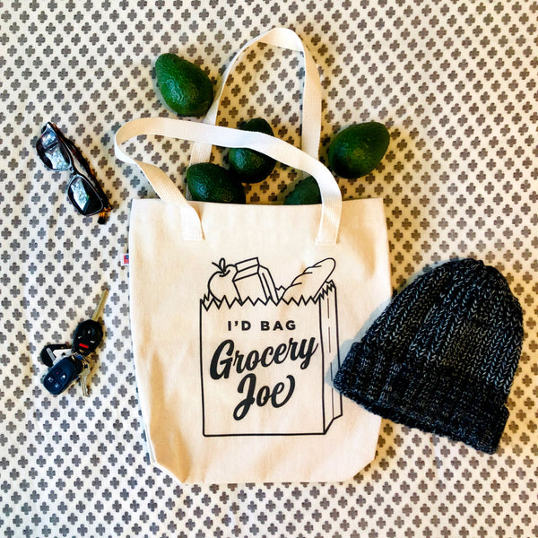 I'd Bag Grocery Joe Tote Bag