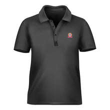 Load image into Gallery viewer, Polo T-Shirt Black