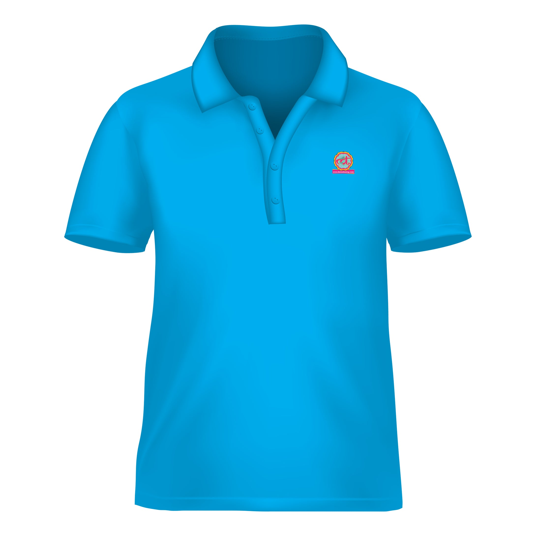 Dry Fit Polo Sky Blue