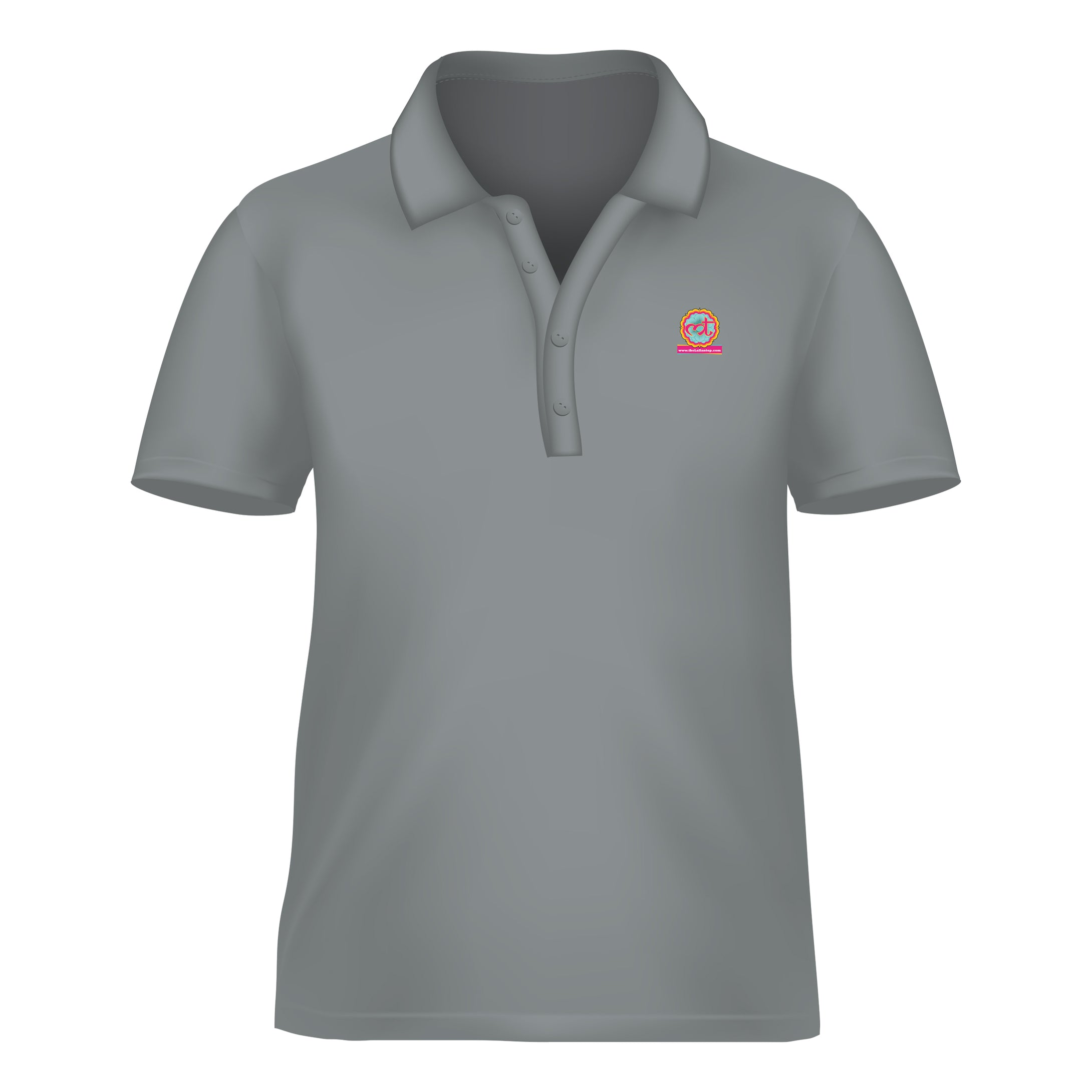 Dry Fit Polo Grey