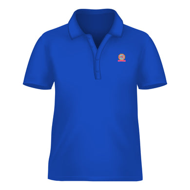 Dry Fit Polo Royal Blue
