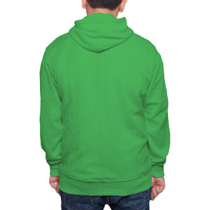 Hoodie Sweatshirt Bottle Green