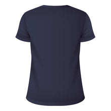 Load image into Gallery viewer, V Neck T-Shirt Navy