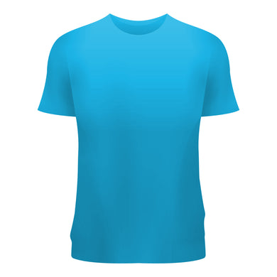 Plain T-Shirt Blue