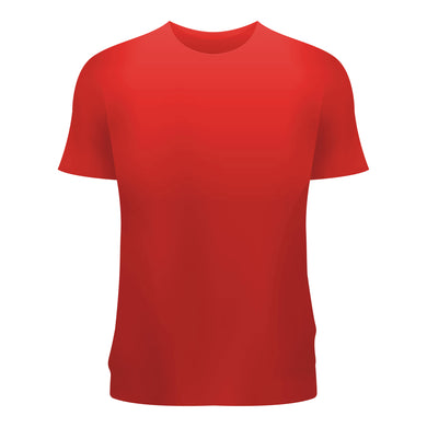 Plain T-Shirt Red