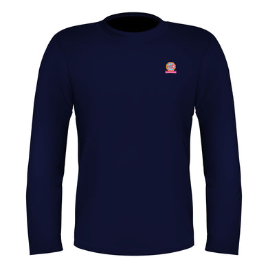 Full Sleeves T-Shirt Navy