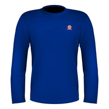Load image into Gallery viewer, Full Sleeves T-Shirt Royal Blue