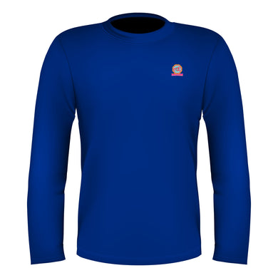 Full Sleeves T-Shirt Royal Blue