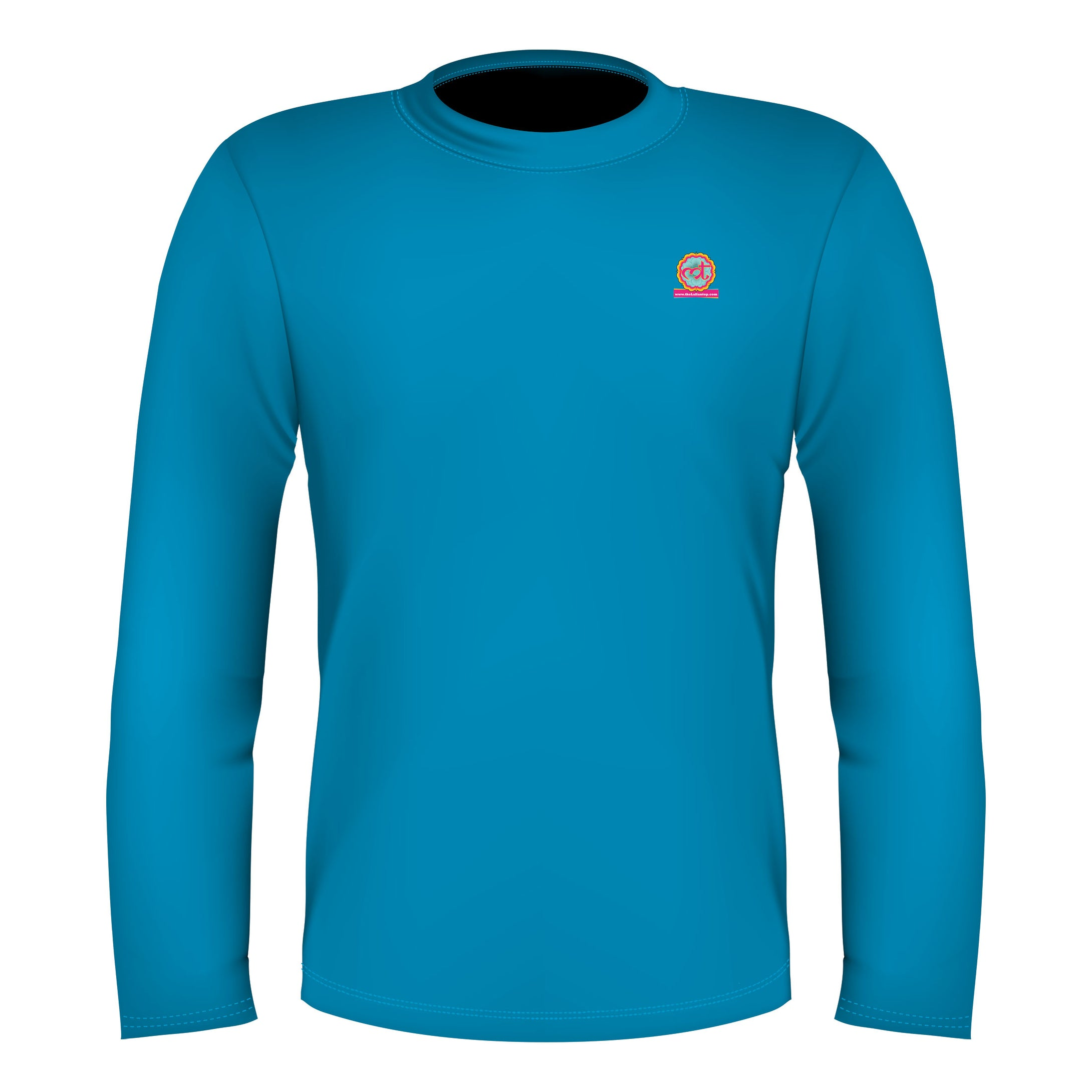 Full Sleeves T Shirt Sky Blue