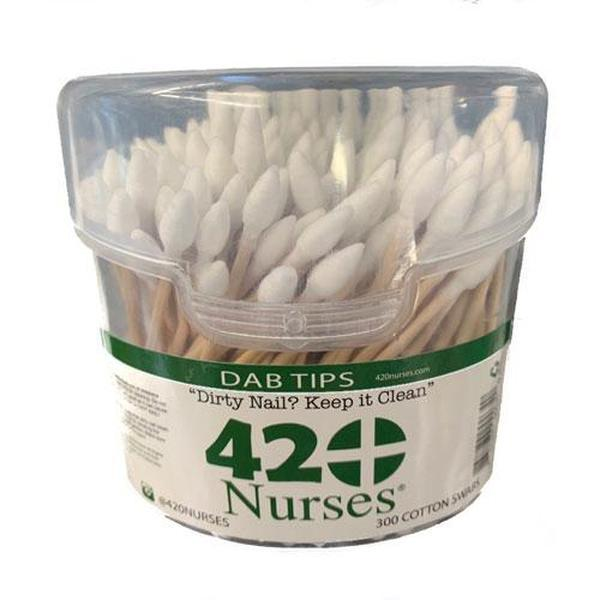 420 Nurses 300 Cotton Swabs-SMOKE ACCESSORIES-fourseasons-trade