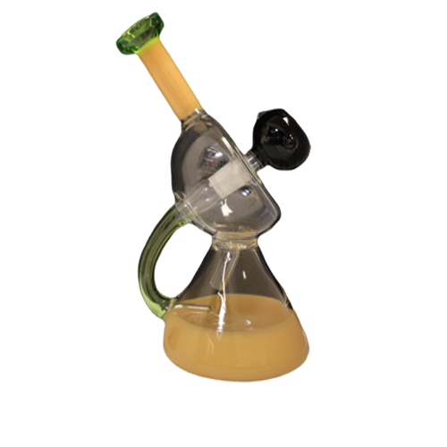 8 Inch Bong  With Bend Neck