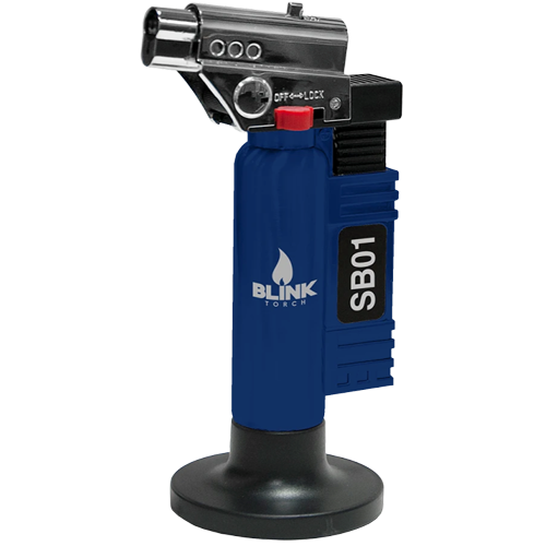 BLINK SB01 SB-01 ADJUSTABLE BUTANE LIGHTER TORCH - ASSORTED COLORS