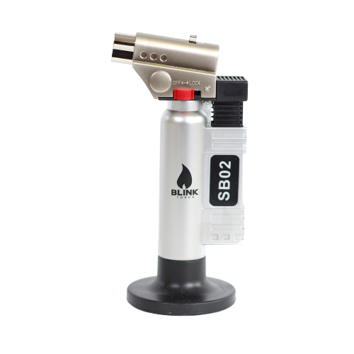BLINK SB02 SB-02 REFILLABLE BLUE FLAME BUTANE ADJUSTABLE BUTANE LIGHTER TORCH - PRICE PER PIECE