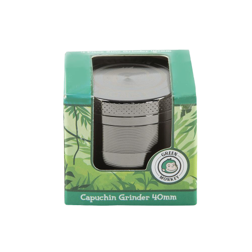 GREEN MONKEY CAPUCHIN GRINDER  - 40MM