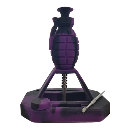 Grenade Silicone Nectar Collector-Price Per Piece