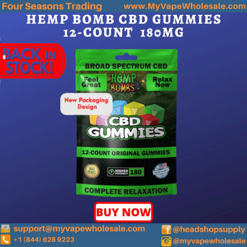 Hemp Bomb CBD Original Gummies