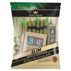 KING PALM SLIM SIZE-25 PER PACK-8 PER BOX