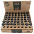 LOCK N LOAD GLASS CHILLUM 9mm - 48 Per Pack-Price Per Piece
