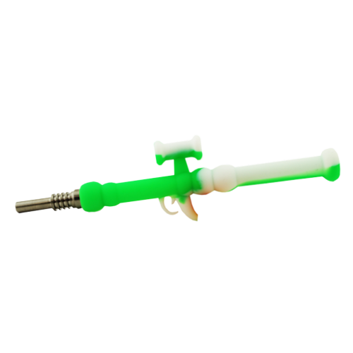 Mini Silicone Rocket Launcher Nectar Collector - Assorted - Price Per Piece