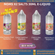 Noms X2 Salts 30ml E-Liquid