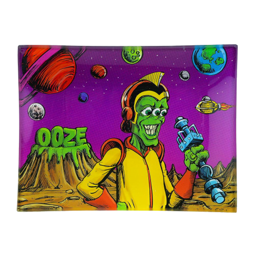 OOZE GLASS ROLLING TRAY SMALL