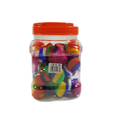 Silicone Jar-5ml Silicone Container-Count of 60-Assorted Colors