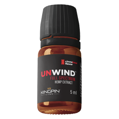 UNWIND FULL SPECTRUM 75MG HEMP EXTRACT 5ML - PACK OF 20