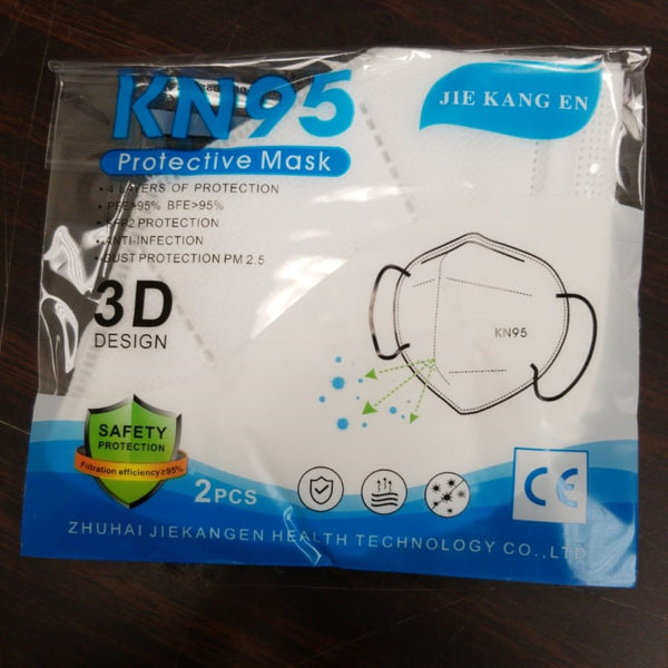 FACE MASK KN95 Protection mask- 2 piece per pack
