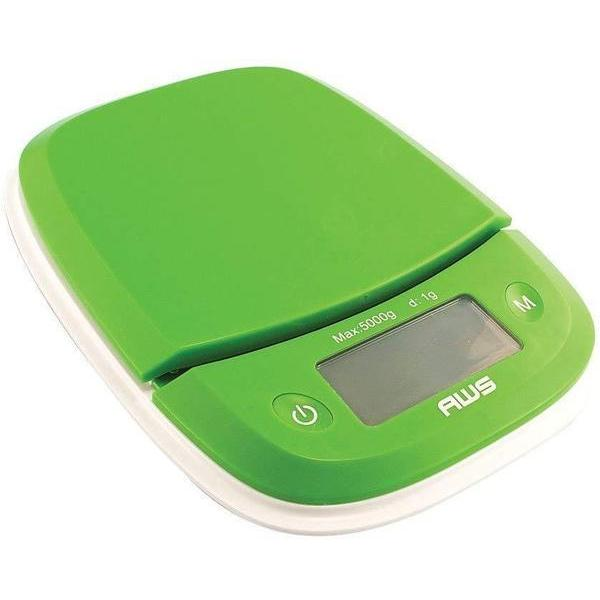AWS Extended Silicone Bowl KITCHEN SCALE 5000g x 0.1g / 11lbs x 0.1oz-SCALES-fourseasons-trade