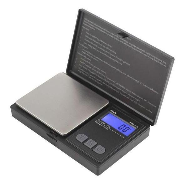 AWS MAX-100 DIGITAL POCKET SCALE 100 X 0.01g - ASSORTED COLORS-SCALES-fourseasons-trade