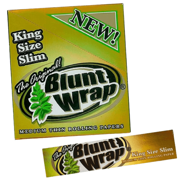 BLUNT WRAP ULTRA FINE PAPER KING SIZE SLIM - 25 IN BOX-TOBACCO WRAPS-fourseasons-trade
