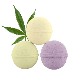 BOLT CBD BATH BOMBS 50MG - 5oz Made in USA-CBD Topicals-fourseasons-trade