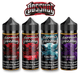 BOSSHOG E-JUICE E-LIQUID - 100ML Perma Frost , Duke of Berries , Dragon Fruit , Bloody Cherry