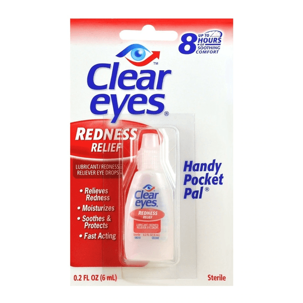CLEAR EYES REDNESS RELIEF, 0.2 FL OZ-Personal Care-fourseasons-trade