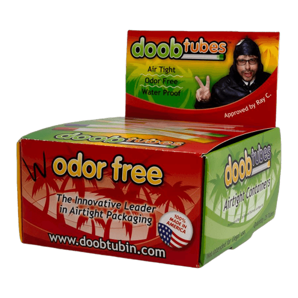Doob Tubes Transparent - 25 in Box-Dispensary Supplies-fourseasons-trade