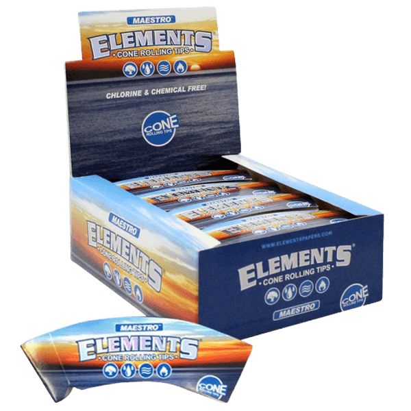 ELEMENTS MAESTRO CONE ROLLING TIPS - 24 in Box-Tips-fourseasons-trade