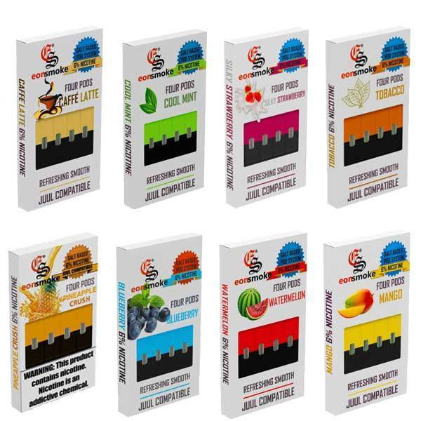 "EON Smoke ""JUUL Compatible Pods"" 5 PACK-Pod Systems-fourseasons-trade"