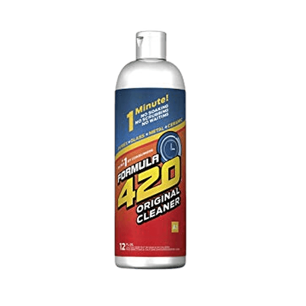 Formula 420 CLEANER Plastics & Silicone Cleaner ACRYLIC 12oz & GLASS, METAL & CERAMIC CLEANSER 12 FL OZ-Glass Cleaner-fourseasons-trade