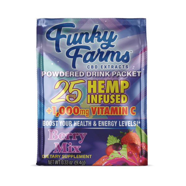 Funky Farm CBD Powdered Drink Packet-Hemp CBD-fourseasons-trade