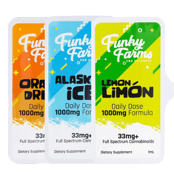 Funky Farm Daily Dose 33mg Full Spectrum-Hemp CBD-fourseasons-trade