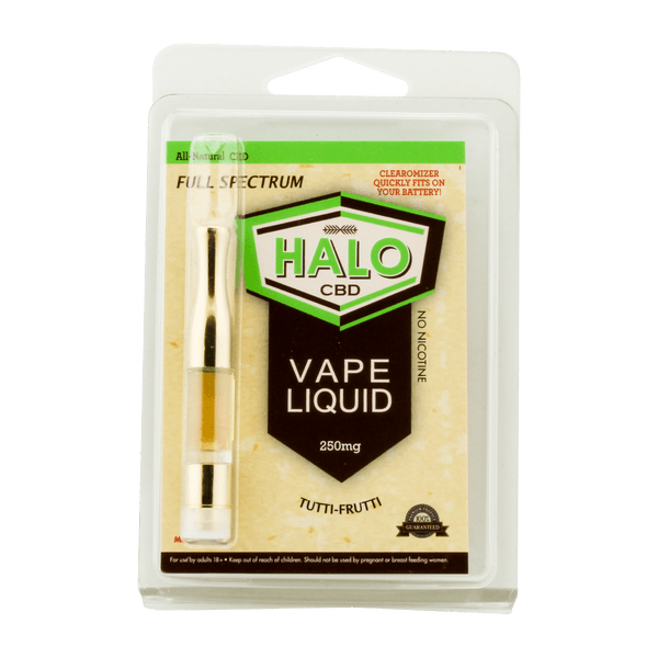 Halo CBD Vape Oil 510 Thread Tank-CBD Vape-fourseasons-trade