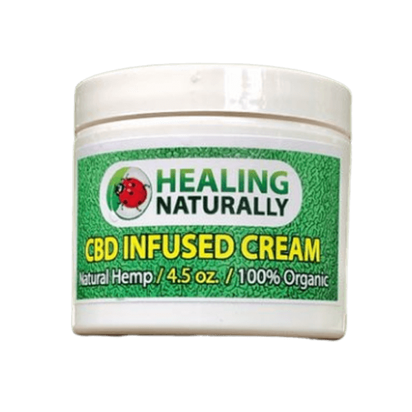 HEALING NATURALLY CBD INFUSED CREAM 4.5oz 150mg FULL SPECTRUM-CBD Topicals-fourseasons-trade