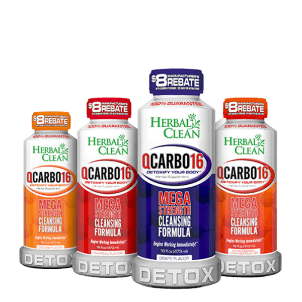Herbal Clean QCarbo16 Detoxify Your Body – 16 oz-Detox-fourseasons-trade