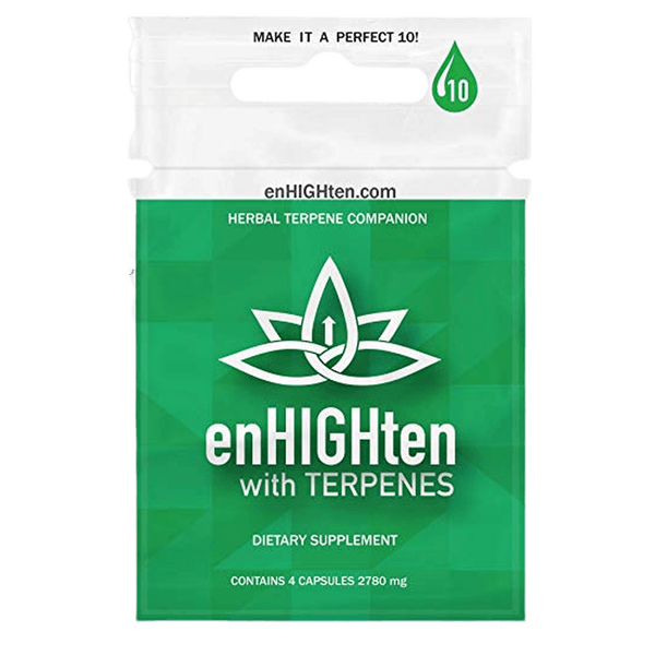 Herbal Terpene Supplement Capsules - Made with 100% Natural Herbs High in Plant Based Terpenes - 4 Pack Sachet (Four Capsules)-SUPPLEMENT-fourseasons-trade