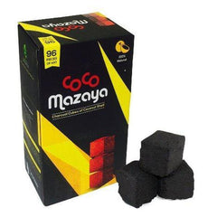 Hookah Coals Coco Mazaya - Natural Coconut Shell Charcoal Cubes For Hookah Coco Nara. - Grilling Charcoal.-Charcoal-fourseasons-trade