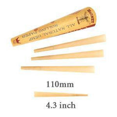 Hornet Pre-rolled Cones Natural Hemp King Size 110mm Organic Rolling Paper-Tobacco Cones-fourseasons-trade
