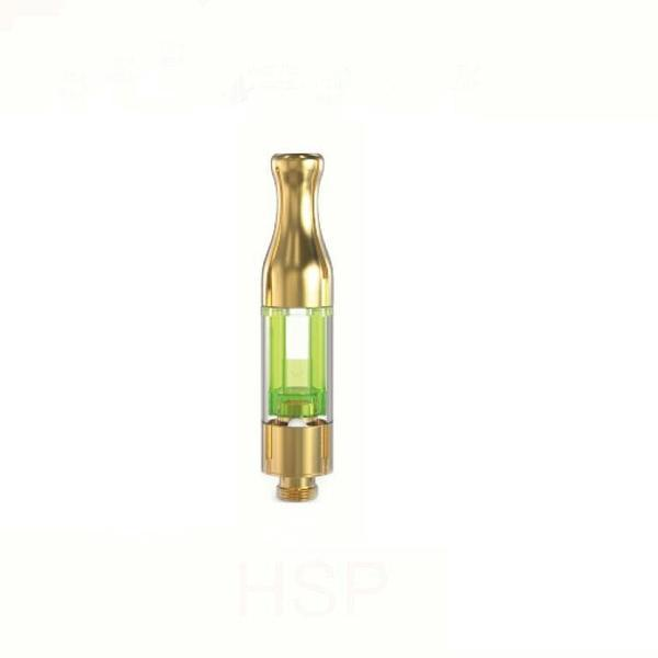 HSP CE3 PLASTIC TANK CARTRIDGES 0.5ml GOLD 510 CBD - 100 in Pack-DISPENSARY TANK-fourseasons-trade
