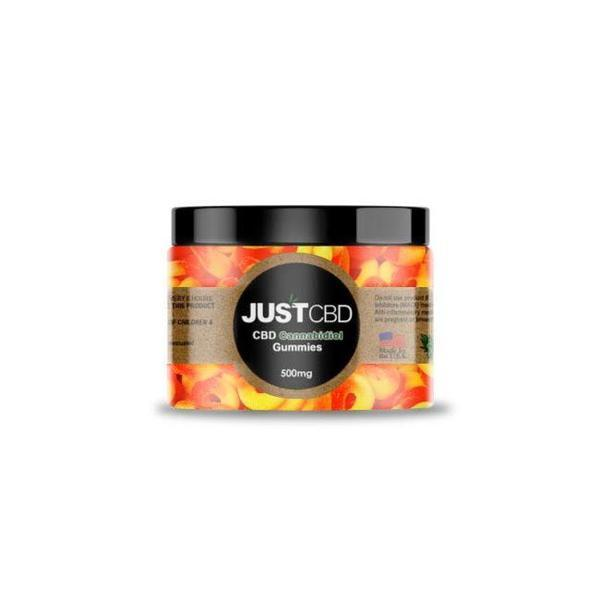 JUST CBD Gummies 500 MG Jar - ASSORTED FLAVOR-CBD Gummies-fourseasons-trade