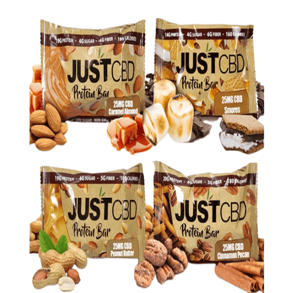 JUSTCBD CBD PROTEIN BARS-CBD Topicals-fourseasons-trade